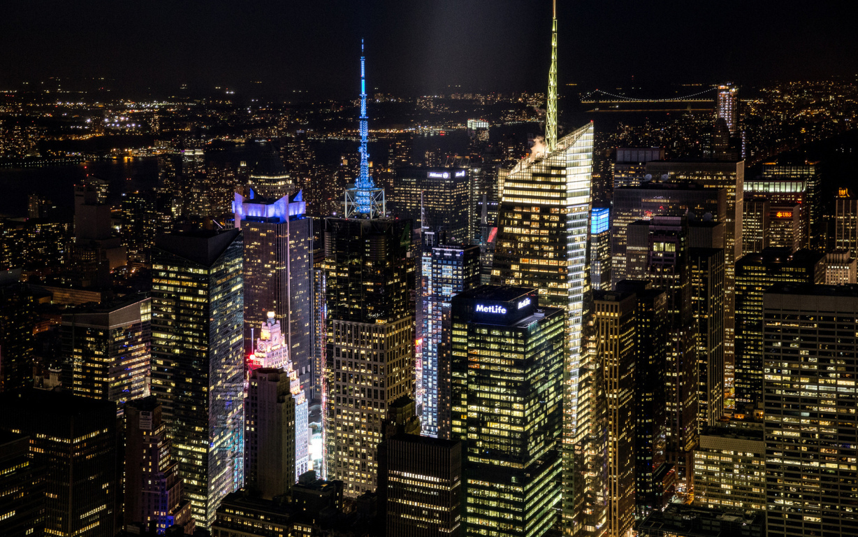 Man Made New York United States Skyscraper City Cityscape Artistic Wallpaper Background Image Cities