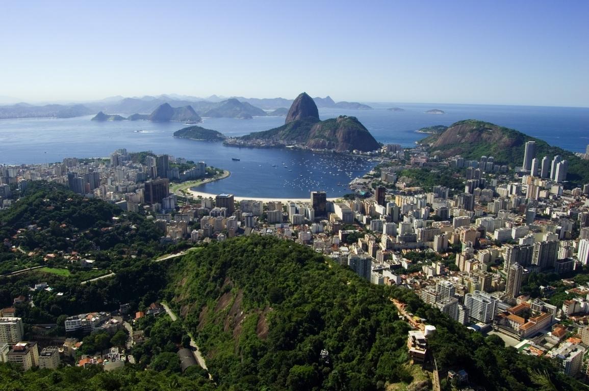 Man Made Rio De Cities Brazil City Beach Light Background Image Janeiro