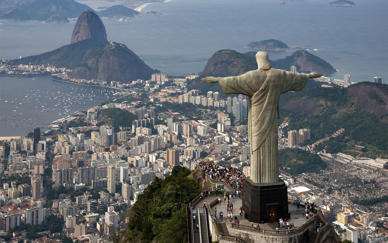 Man Made Rio De Cities Brazil City Beach Light Hd Wallpaper Background Janeiro
