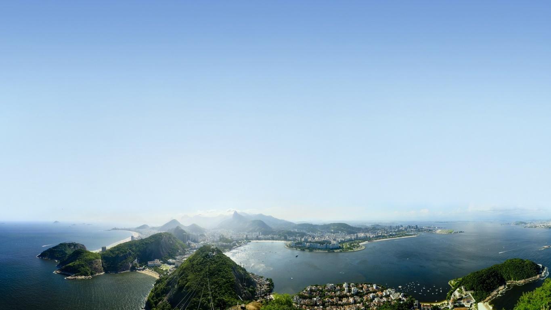 Man Made Rio De Cities Brazil City Beach Light Hd Wallpaper Janeiro
