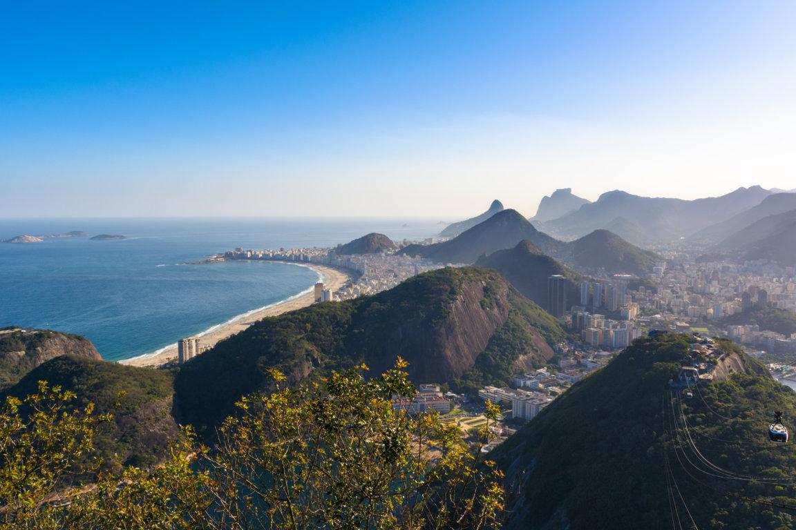 Man Made Rio De Cities Brazil City Cityscape Christ The Redeemer Background Image Janeiro