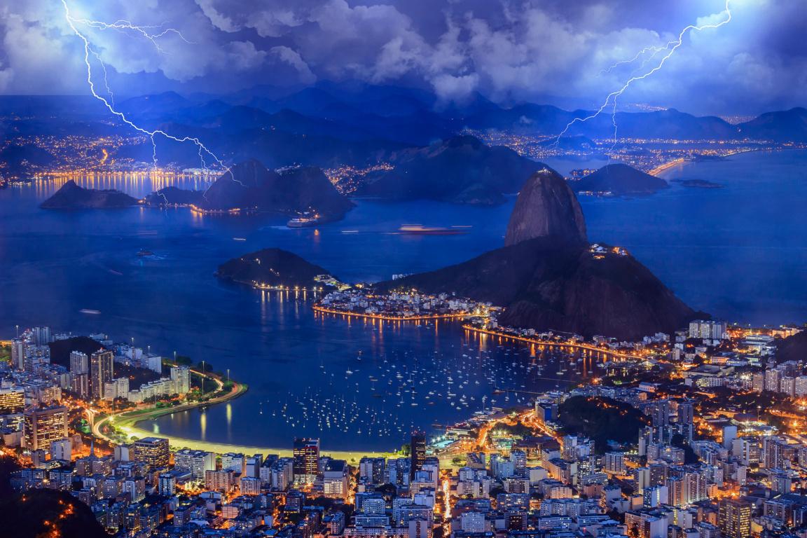 Man Made Rio De Cities Brazil City Cityscape Christ The Redeemer Hd Wallpaper Background Image Janeiro