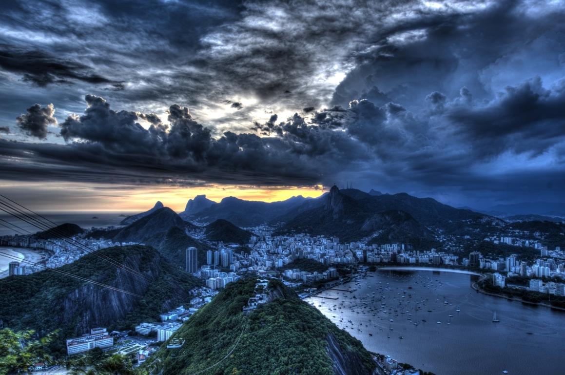 Man Made Rio De Cities Brazil City Cityscape Christ The Redeemer Hd Wallpaper Image Janeiro