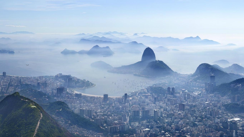 Man Made Rio De Cities Brazil Lightning Botafogo Background Image Janeiro