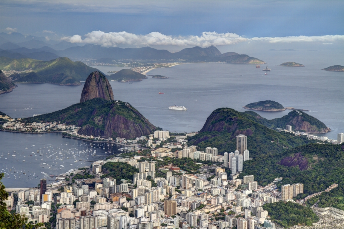 Man Made Rio De Cities Brazil Lightning Botafogo Hd Wallpaper Image Janeiro