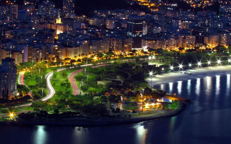 Man Made Rio De Cities Brazil Lightning Cloud Storm Mountain Bay Hd Background Image Janeiro