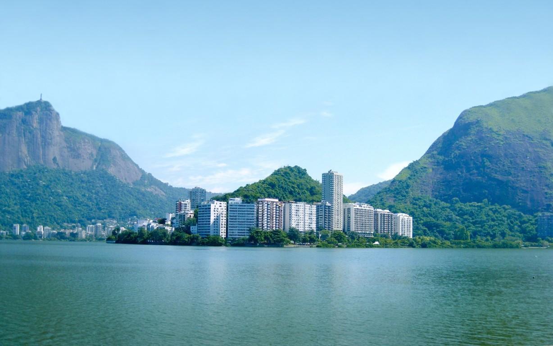 Man Made Rio De Cities Brazil Lightning Cloud Storm Mountain Bay Hd Wallpaper Background Image Janeiro