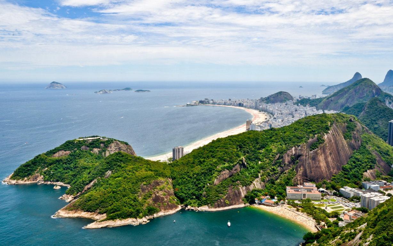 Man Made Rio De Cities Brazil Lightning Cloud Storm Mountain Bay Wallpaper Background Image Janeiro