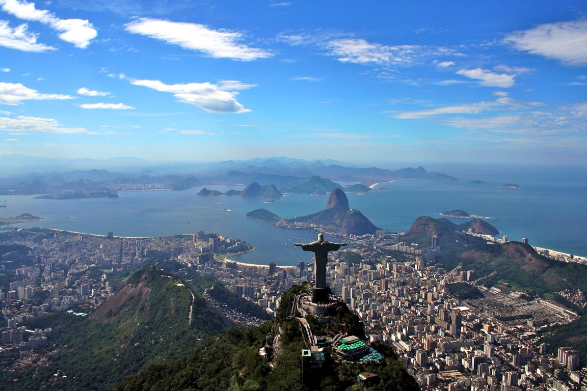 Man Made Rio De Cities Brazil Sea Seashore Coast Beach Hd Wallpaper Background Image Janeiro