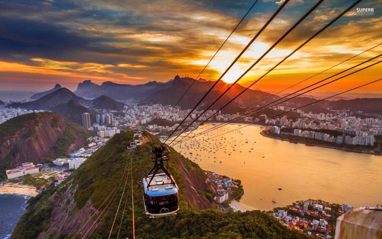 Man Made Rio De Cities Brazil Sea Seashore Coast Beach Hd Wallpaper Image Janeiro