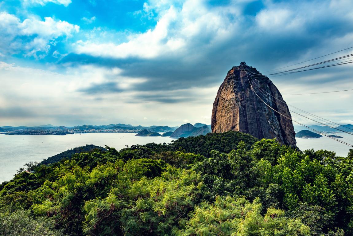 Man Made Rio De Cities Brazil Sunset City Hd Background Image Janeiro