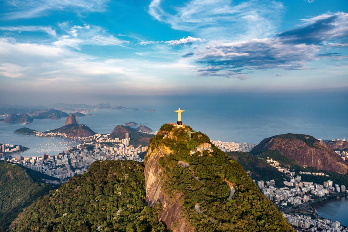Man Made Rio De Cities Brazil Sunset City Hd Wallpaper Background Image Janeiro