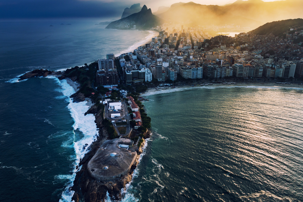 Man Made Rio De Cities Brazil Sunset City Hd Wallpaper Background Janeiro