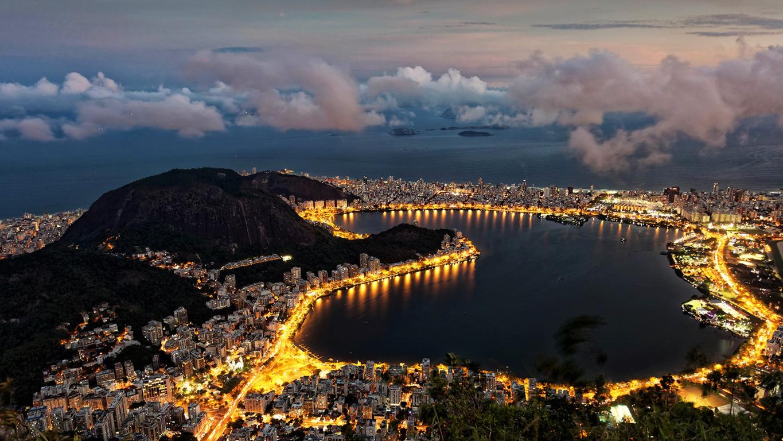 Man Made Rio De Cities Brazil Sunset City Hd Wallpaper Janeiro