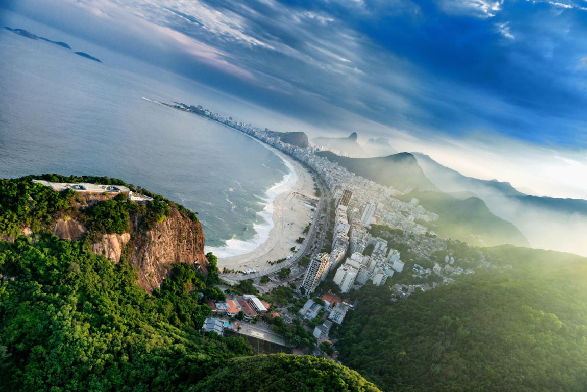 Man Made Rio De Cities Brazil Sunset City Wallpaper Background Image Janeiro