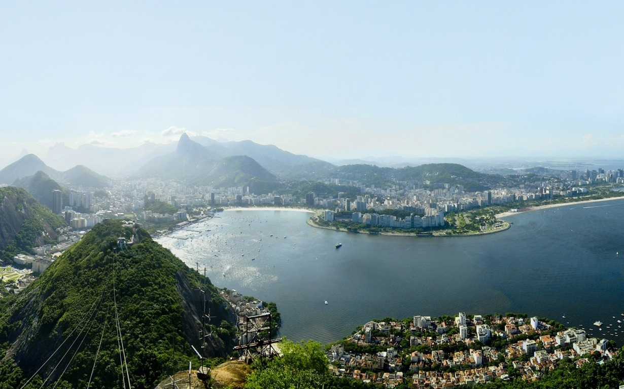 Man Made Rio De Cities Brazil Wallpaper Background Image Janeiro