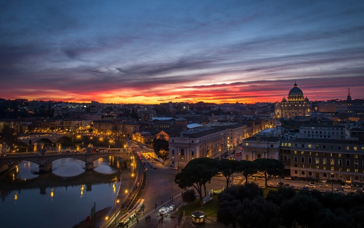 Man Made Rome Cities Hd Background Image Italy