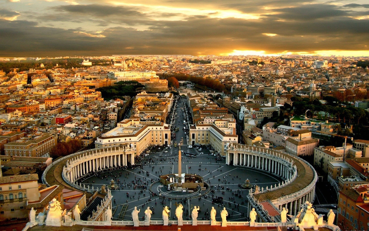 Man Made Rome Cities Imperial Fora Hd Wallpaper Background Italy