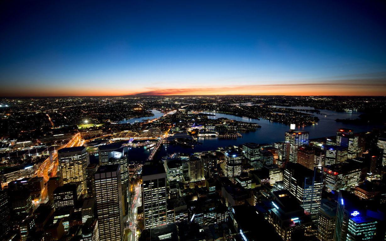 Man Made Sydney Cities City Aerial Boat Cityscape Horizon Sydney Harbour Sydney Harbour Bridge Hd Wallpaper Background Australia