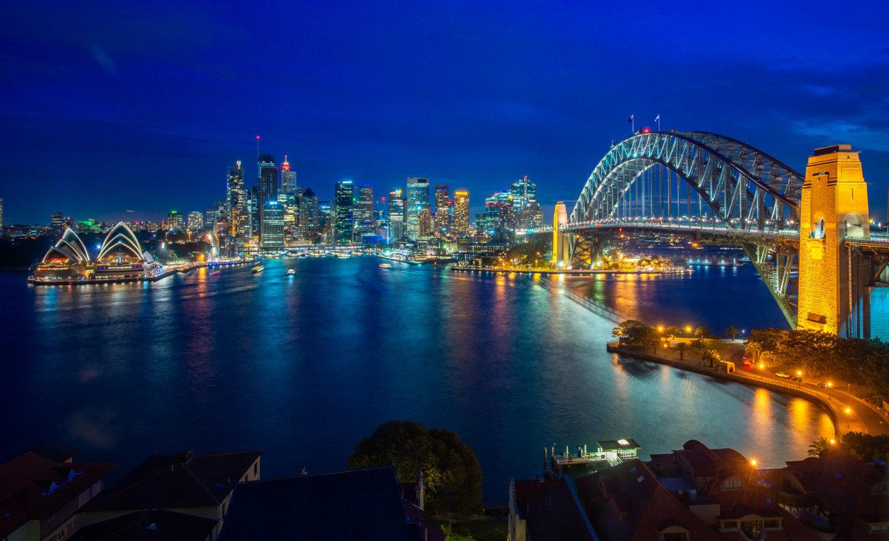 Man Made Sydney Cities City Boat Bridge Sydney Harbour Bridge Sydney Harbour Lavender Bay Hd Wallpaper Background Image Australia