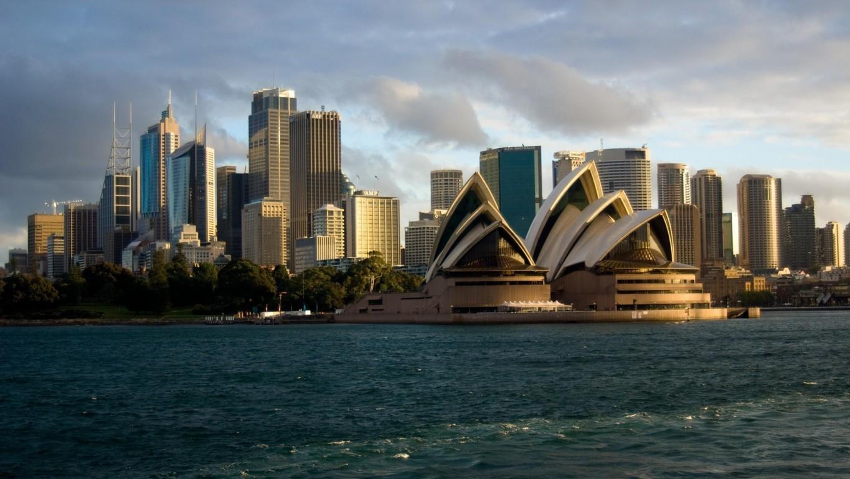 Man Made Sydney Cities Harbor Boat Vehicle Wharf Building City Skyscraper Circular Quay Ferry Hd Background Image Australia