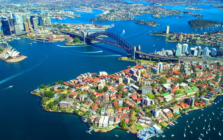 Man Made Sydney Cities Harbor Boat Vehicle Wharf Building City Skyscraper Circular Quay Ferry Hd Wallpaper Australia