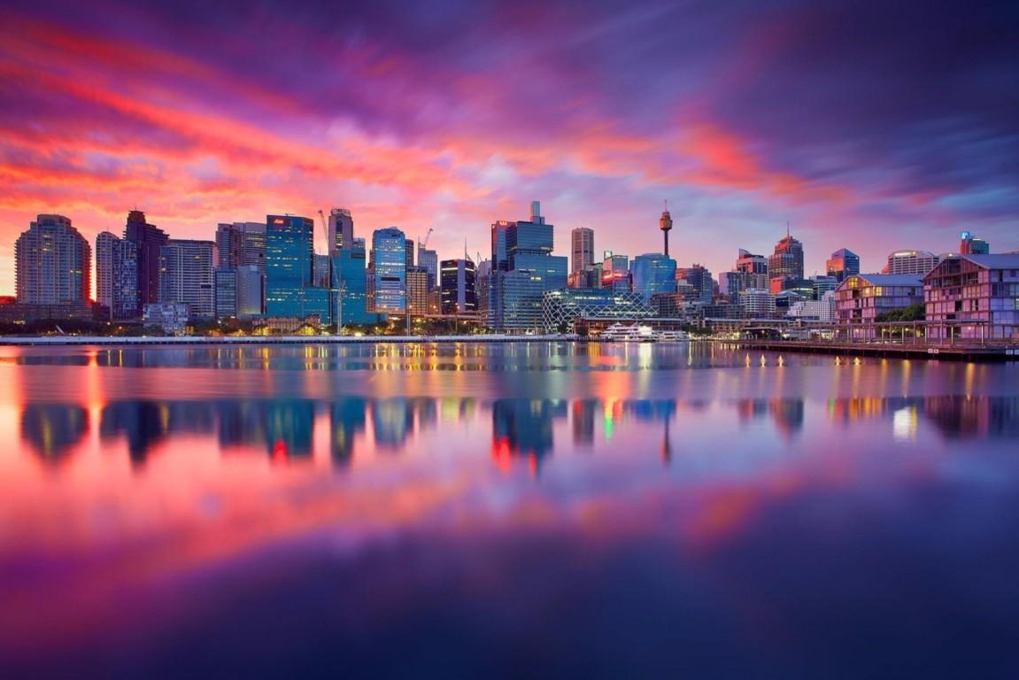 Man Made Sydney Cities Harbor Boat Vehicle Wharf Building City Skyscraper Circular Quay Ferry Hd Wallpaper Background Australia