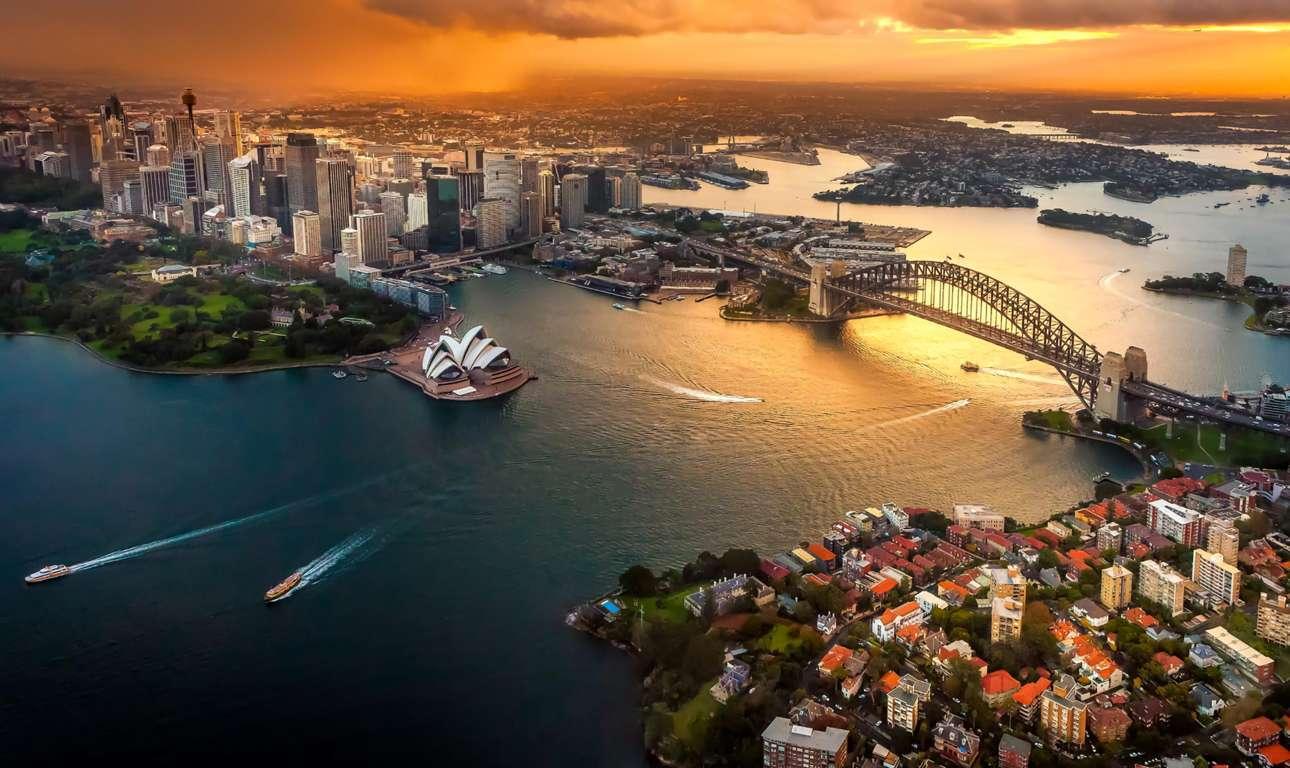 Man Made Sydney Cities Harbor Boat Vehicle Wharf Building City Skyscraper Circular Quay Ferry Wallpaper Background Image Australia