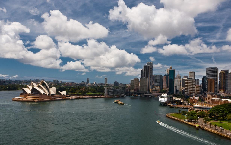 Man Made Sydney Cities Harbor Sydney Harbour Building Sydney Opera House Sydney Harbour Bridge Australia