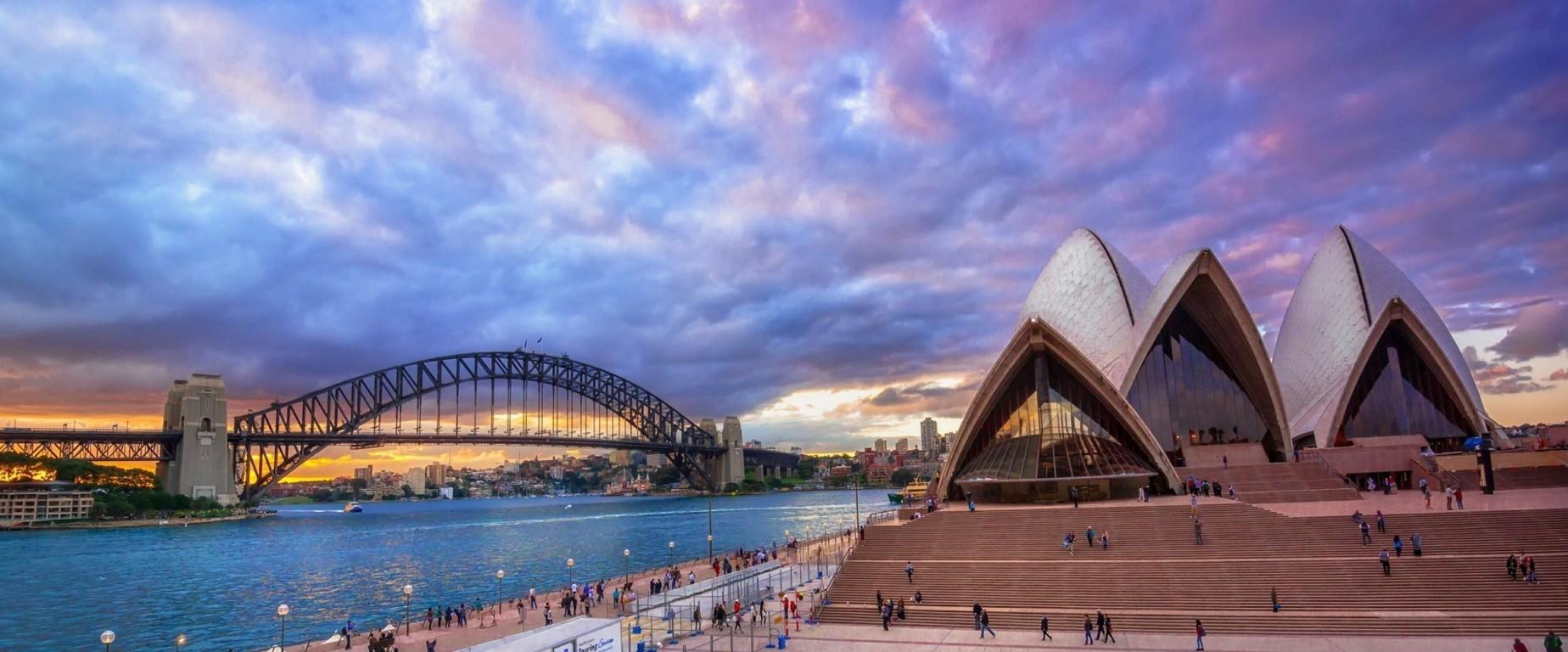 Man Made Sydney Cities Hd Wallpaper Background Australia