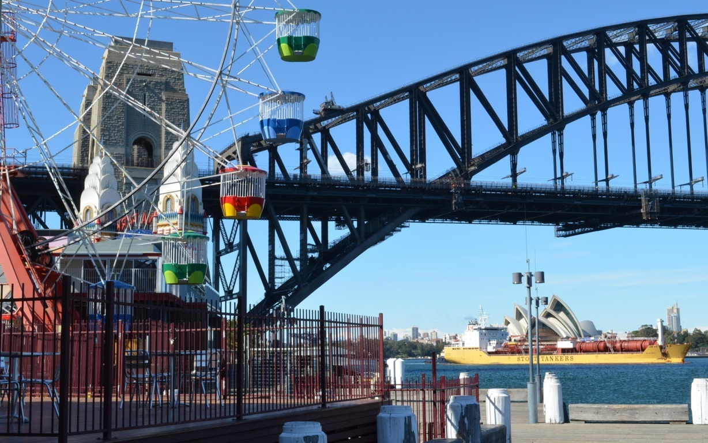 Man Made Sydney Cities Street Building Lamp Post City Circular Quay Sydney Harbour Background Image Australia