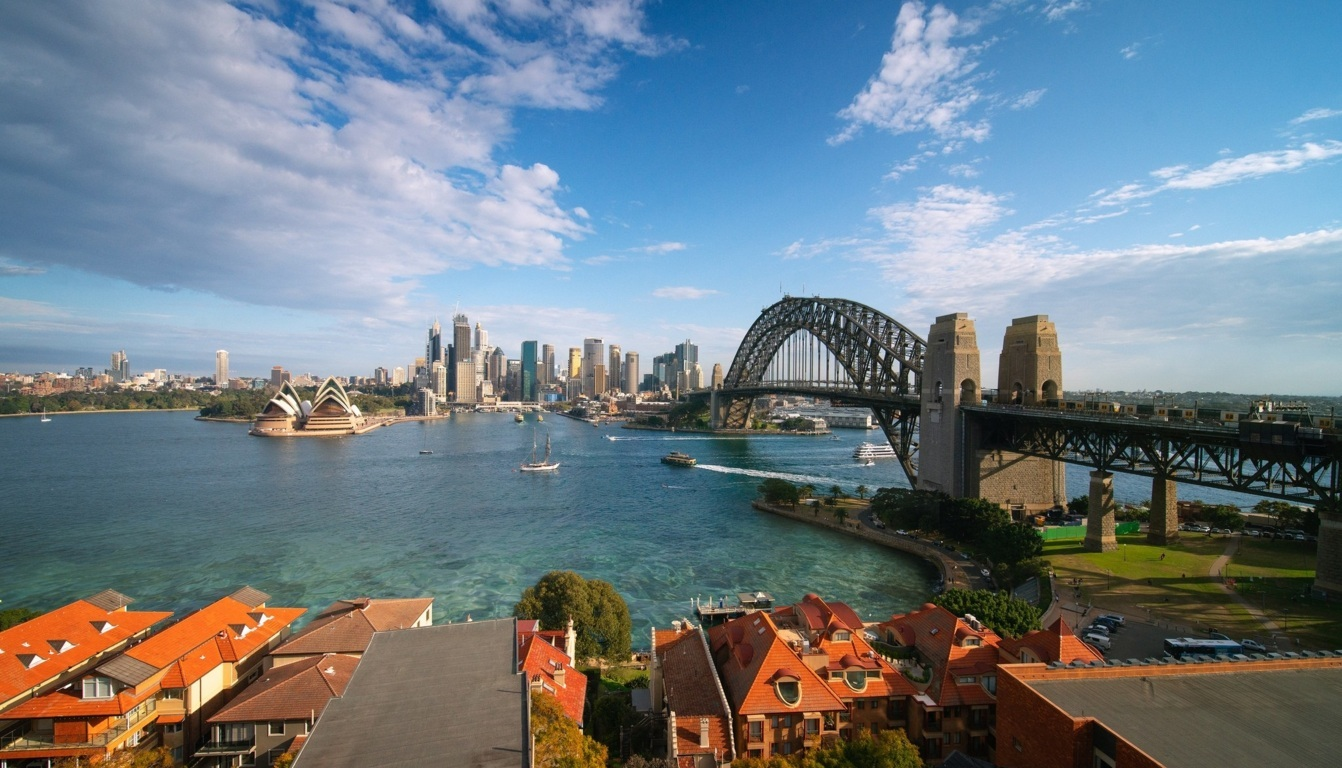Man Made Sydney Cities Sydney Harbour Bridge Sydney Opera House Australia