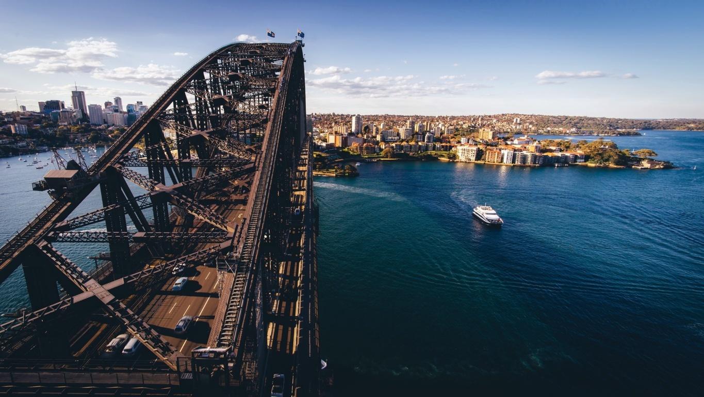 Man Made Sydney Cities Sydney Harbour Bridge Sydney Opera House Background Image Australia