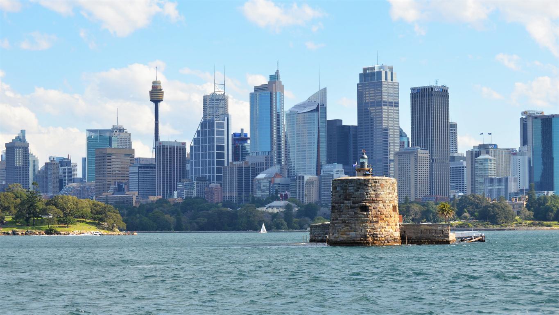 Man Made Sydney Cities Sydney Harbour Bridge Sydney Opera House Hd Wallpaper Australia