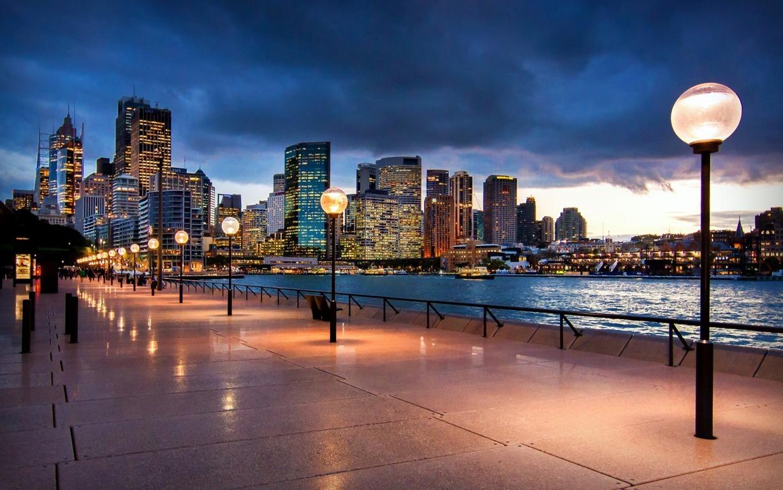 Man Made Sydney Cities Sydney Harbour Bridge Sydney Opera House Hd Wallpaper Background Image Australia