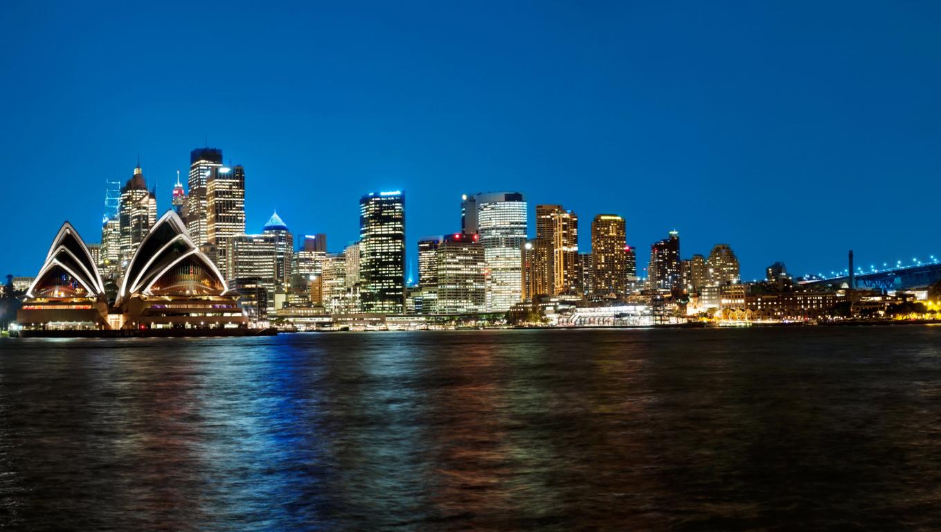 Man Made Sydney Cities Sydney Harbour Bridge Sydney Opera House Wallpaper Background Image Australia