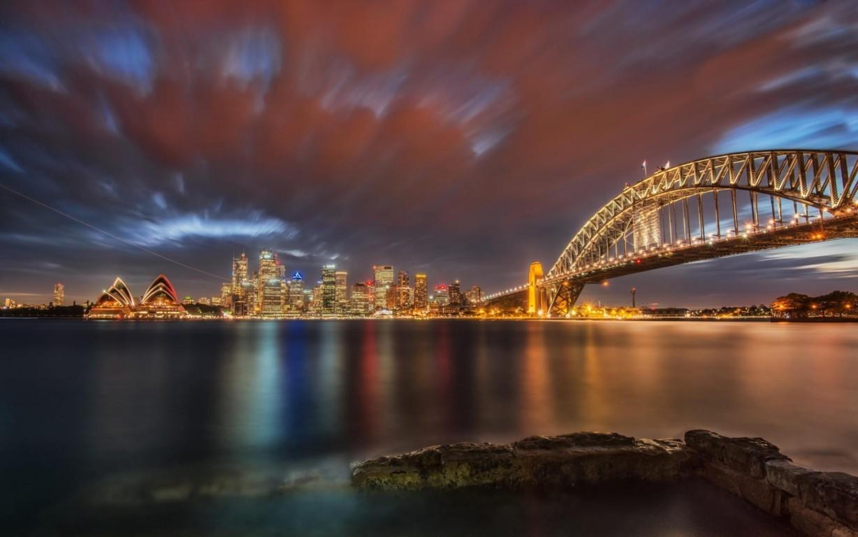 Man Made Sydney Cities Sydney Harbour Sydney Opera House City Ferry Royal Botanic Gardens Hd Background Image Australia