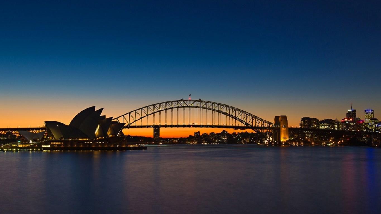 Man Made Sydney Cities Sydney Harbour Sydney Opera House City Ferry Royal Botanic Gardens Hd Wallpaper Background Image Australia