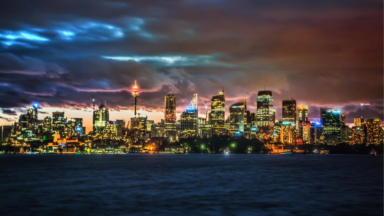 Man Made Sydney Cities Sydney Harbour Sydney Opera House City Ferry Royal Botanic Gardens Hd Wallpaper Image Australia