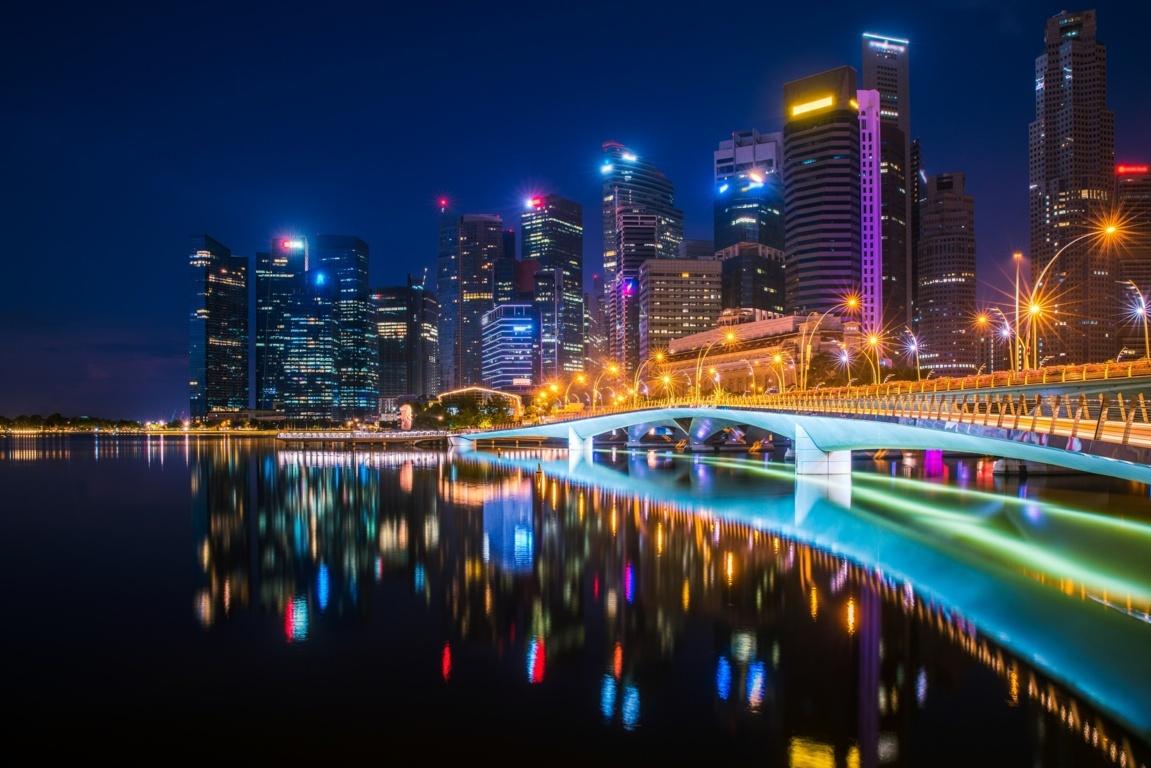 Marina Bay Sands Singapore Hd Desktop Wallpaper For 4k Ultra 4k