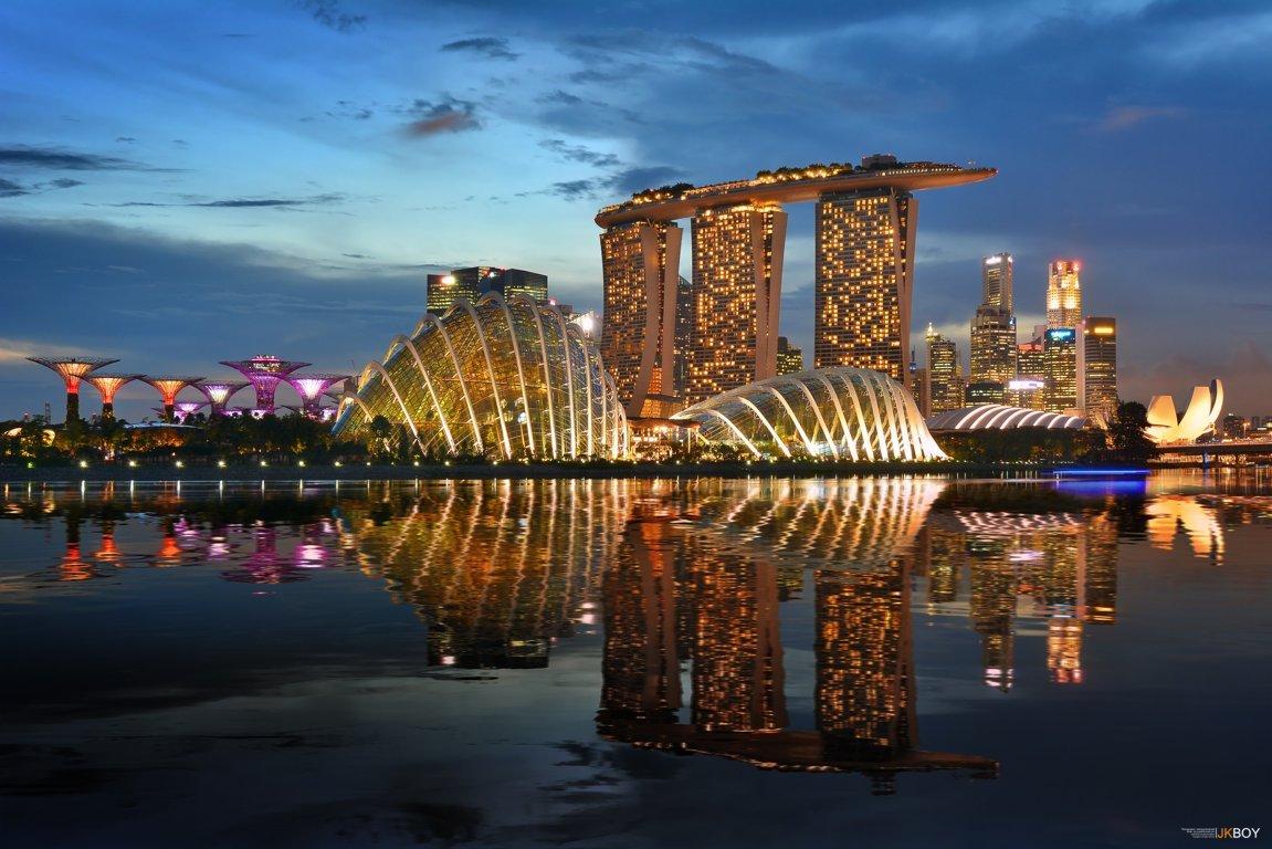 Marina Bay Singapore Hd 4k Image Background World