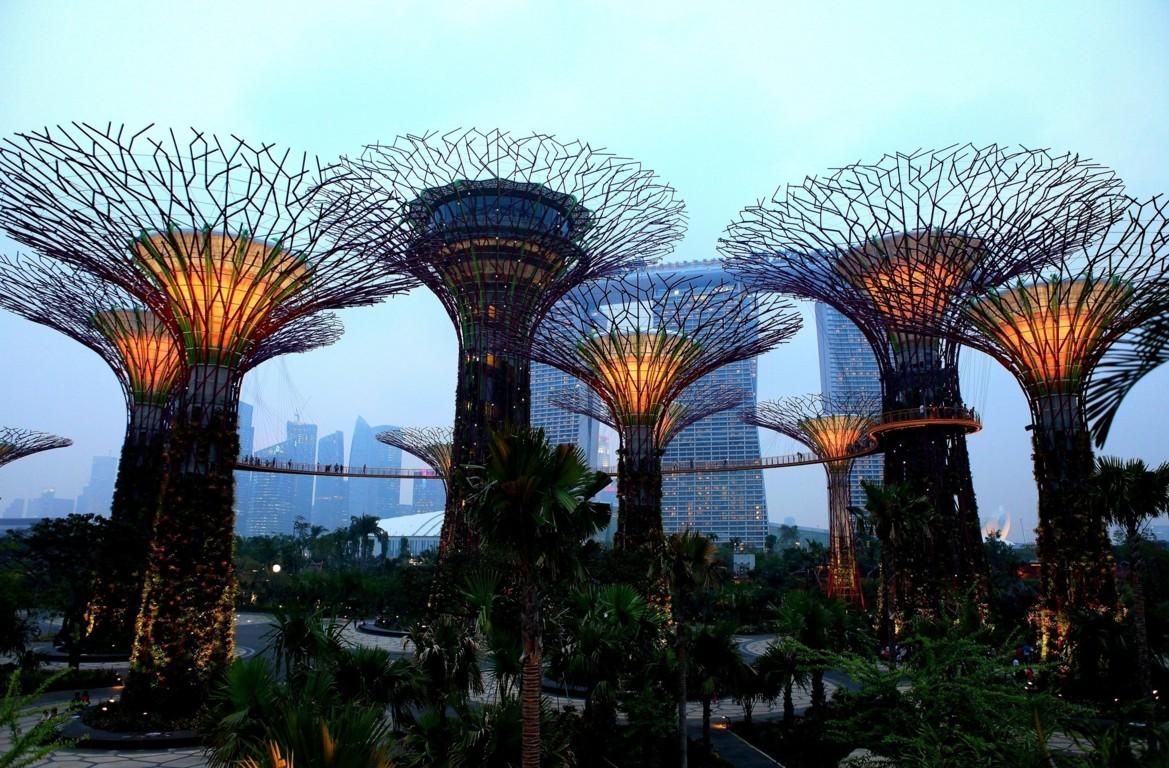 Marina Bay Singapore Hd 4k Wallpaper Image World