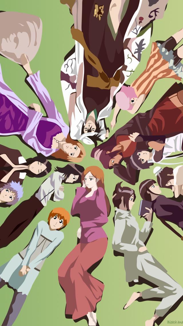 Mobile Phone x Anime Wallpaper Desktop Background