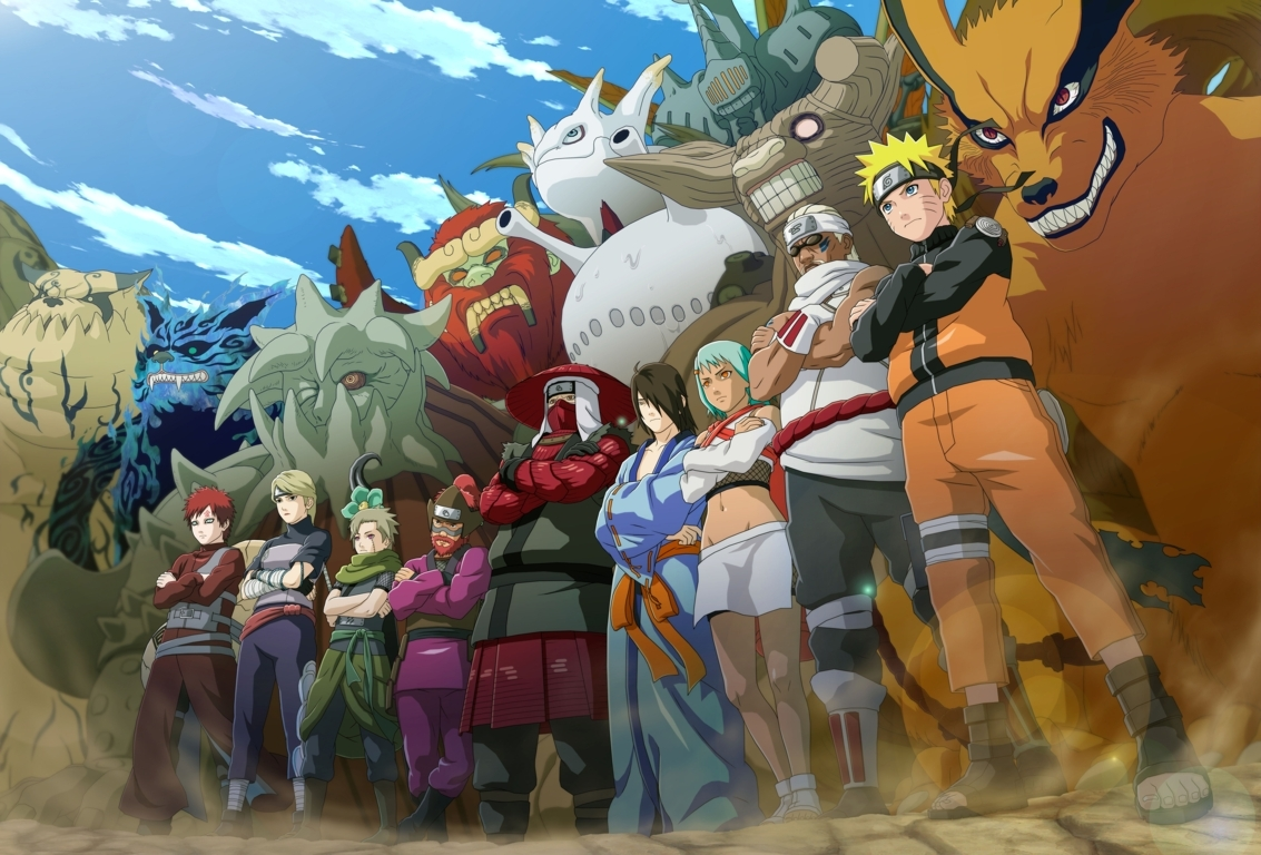 Naruto Fire And Ice Anime Wallpapers Desktop Wallpapers Hd