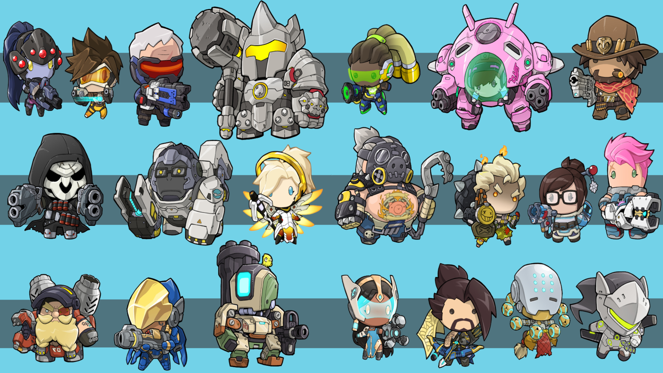 Overwatch Wallpapers And Desktop Up To 8k Backgrounds