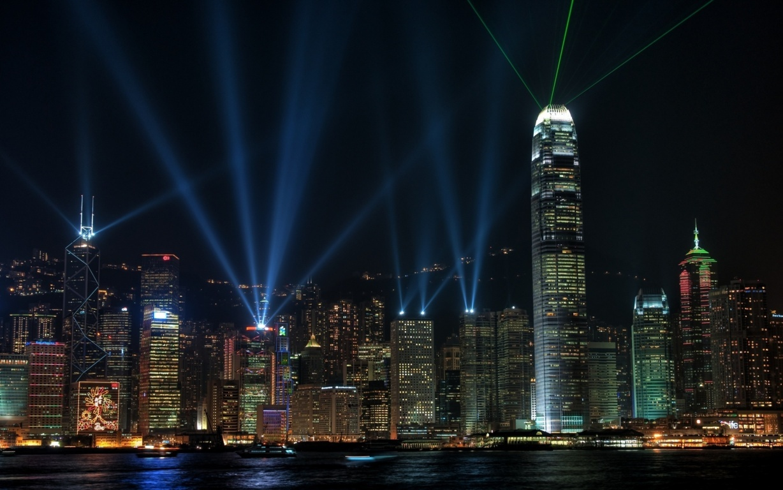 Photography Sunset Horizon City Kong Wallpaper Background Image Hong