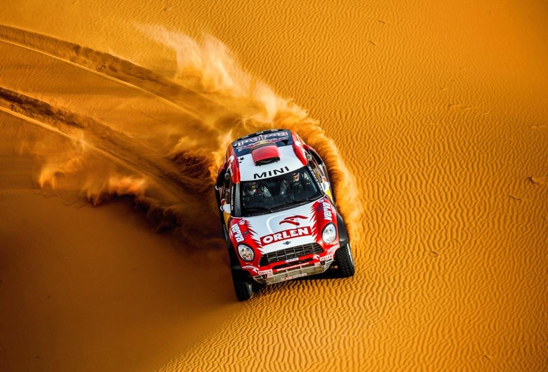 Rally Car Desktop Wallpaper