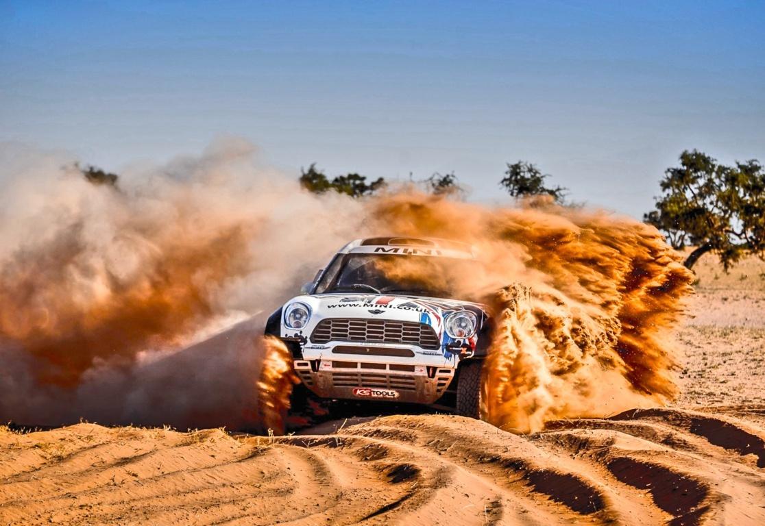 Rally Car Desktop