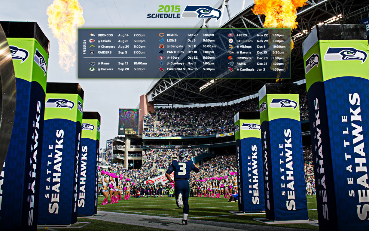 Seattle Seahawks New day new