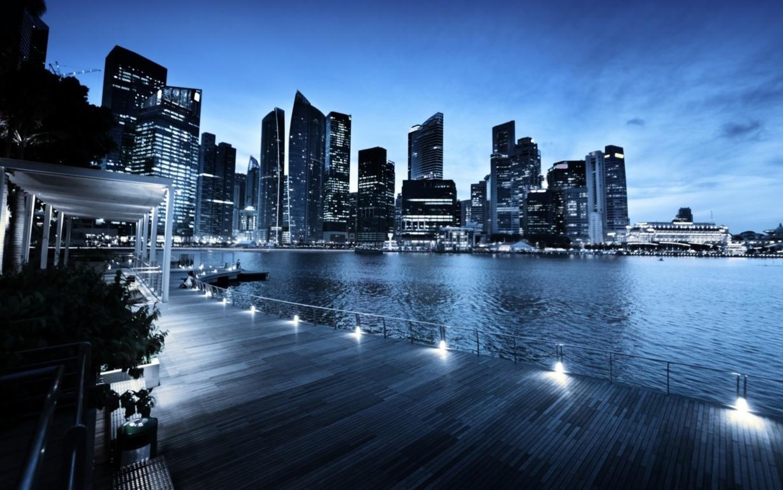 Singapore City 4k Hd Wallpaper For 4k Hd Tv Dual Desktop